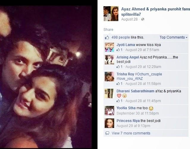 priyanka purohit facebook