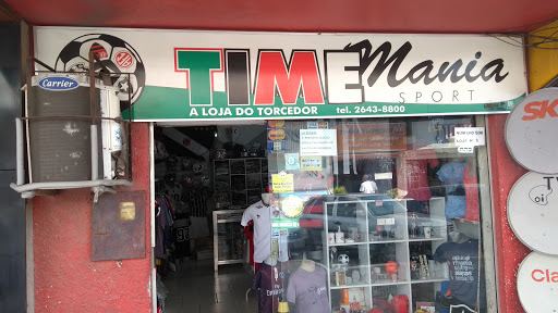 Time Mania Sport, Av. Teixeira e Souza, 500 - Loja 03 - Centro, Cabo Frio - RJ, 28905-100, Brasil, Loja_de_artigos_desportivos, estado Rio de Janeiro