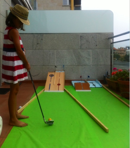 Mini Golf DIY