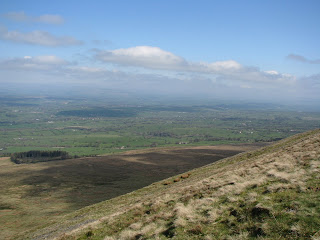 Towards the Yorkshire Dales from Pendle Hill