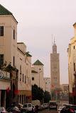 16 Moroccan Flags in One Street Shot - Casablanca, Morocco