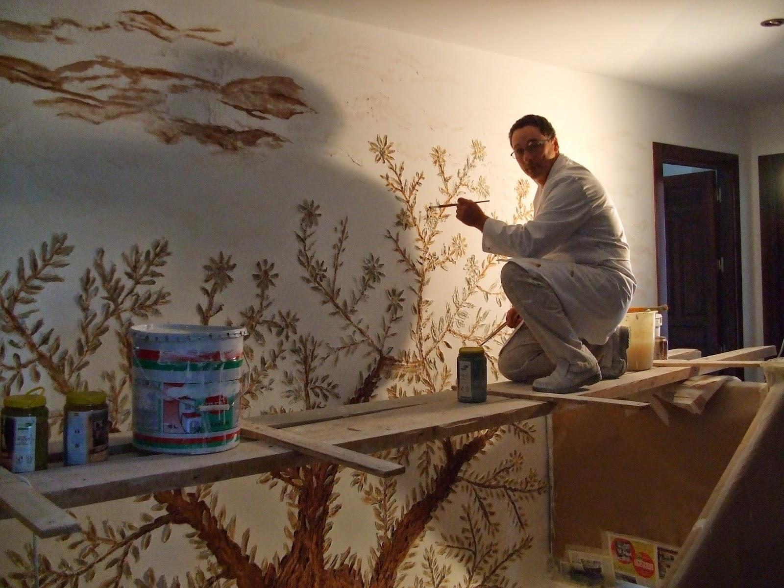 Ideas para pintar paredes interiores - Decoracion en paredes con pintura ...