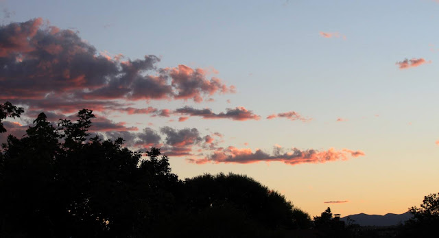 September 3, 2014 - A pastel colored sunset in Thornton. (Michelle Jones)