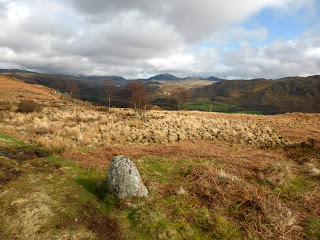 Harter Fell on the horizon from Muncaster Fell