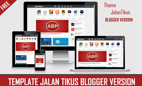 Free JalanTikus Blogger Template