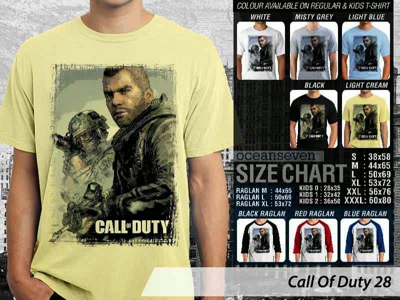 KAOS cod Call Of Duty 28 Game Series distro ocean seven
