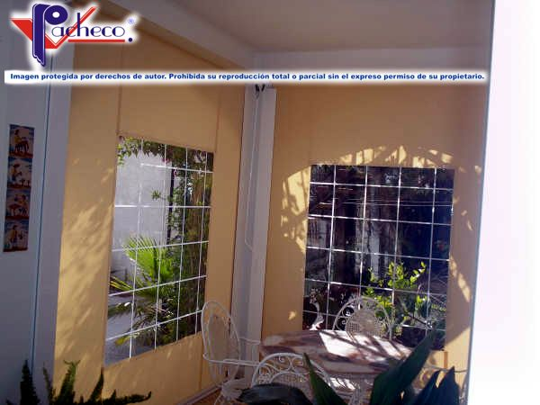 Sistemas de toldos para porches en vall de ebo alicante for Sistemas rieles para toldos