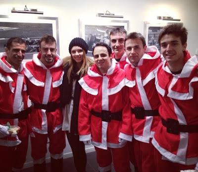 Даша Капустина с лучшими Сантами в Маранелло 16 декабря 2012