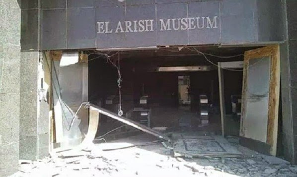 Heritage: Al-Arish Museum damaged by Sinai violence