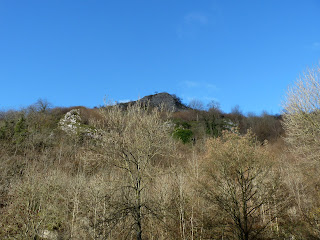 Looking upwards out of Dovedale