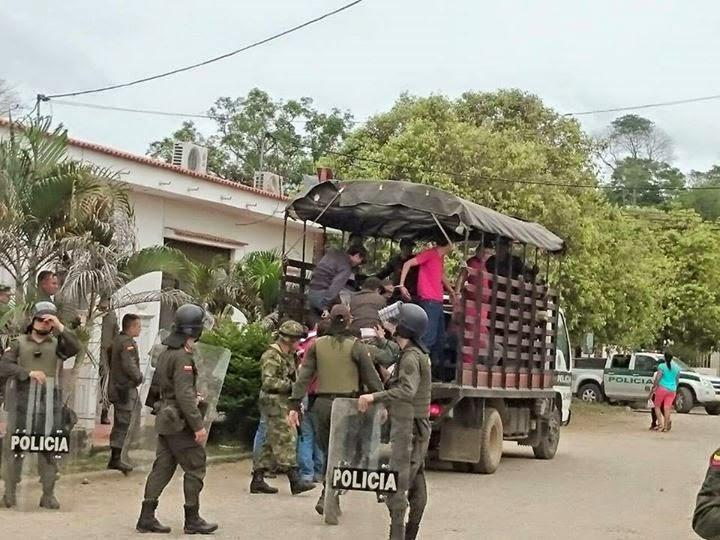 Detenidos en Tibú por pedir trabajo a las empresas contratistas