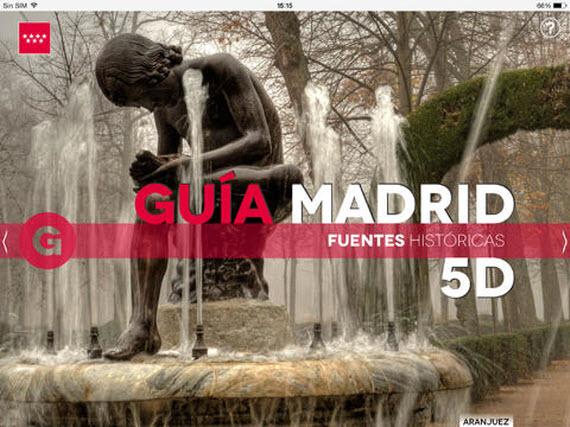 'Guía Madrid 5D', nueva aplicación para hacer turismo en Madrid
