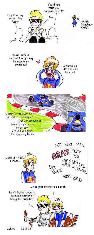 комикс почему Феттель сделал это от Iikku