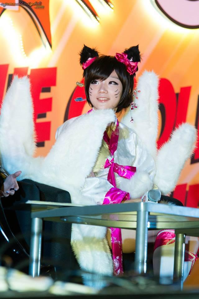 Miyuko khoe cosplay Ahri tại STGCC 2013 - Ảnh 9