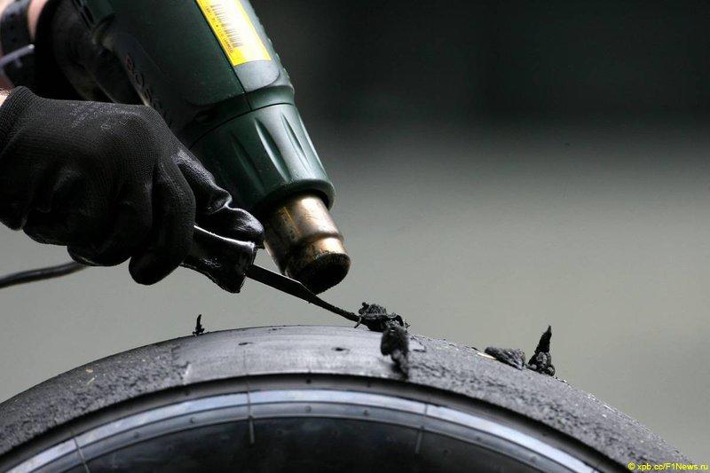 Lotus и резина Pirelli на Гран-при Европы 2011