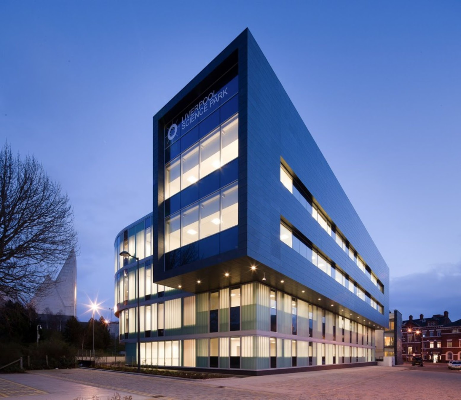 Liverpool, Merseyside L1, Regno Unito: [INNOVATION CENTRE 3 BY RYDER ARCHITECTURE]