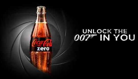 Unlock The 007 In You Skyfall New Coke Zero Commercial