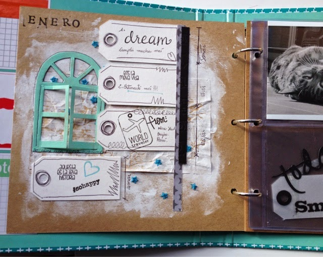 PROJECTLIFE, SCRAP, SCRAPBOOKING, TUTORIAL FONDOS,