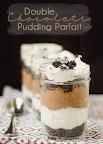 Double Chocolate Pudding Parfait