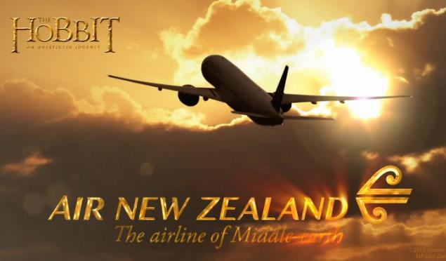 The Hobbit & Air New Zealand | The Airline of Middle-Earth