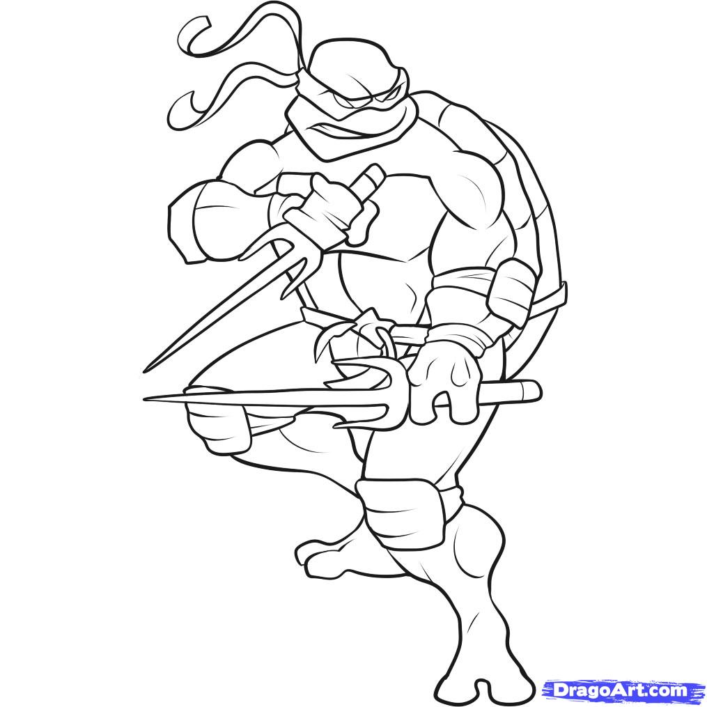 coloring pages of turtles - Top 25 Free Printable Ninja Turtles Coloring Pages Online