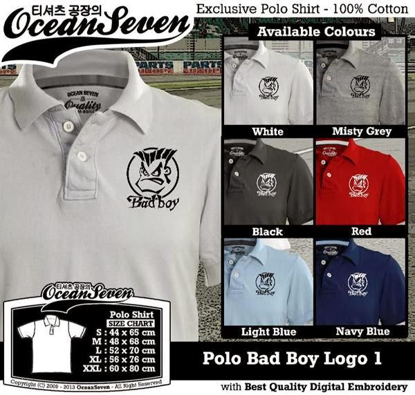 POLO Bad Boy Logo distro ocean seven