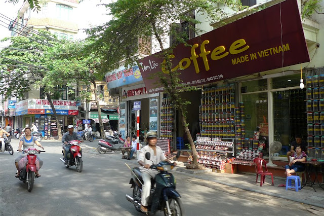 The Vietnamese seem quite partial to a coffee!
