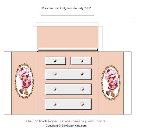 Мебель для куклы схемы