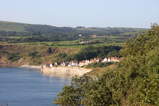 First view of Robin Hoods Bay