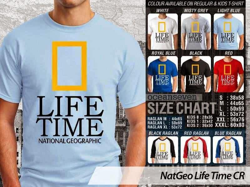 Kaos National Geographic NatGeo Life Time distro ocean seven