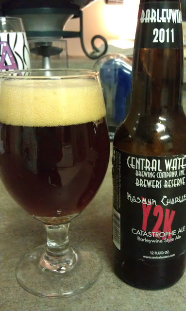 Central Waters Kosmyk Charlie's Y2K Catastrophe Ale