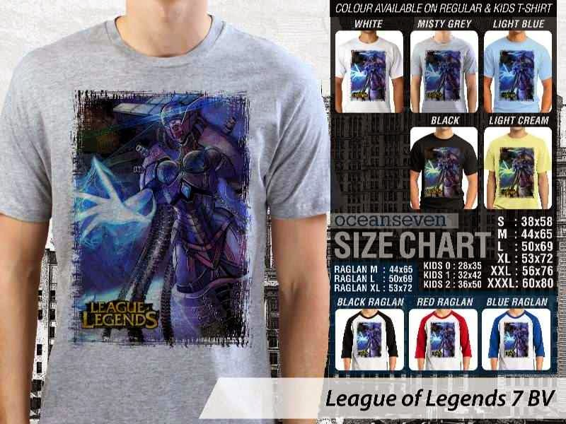 Kaos Game Online League of Legends 7 distro ocean seven