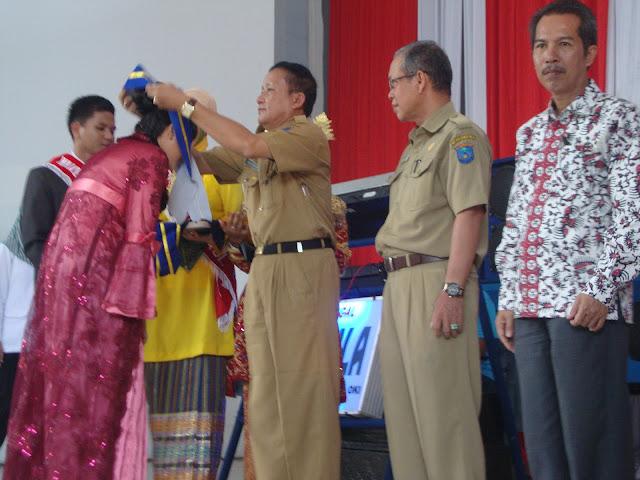 Purna Wisuda Angkatan ke-XI SMAN 3 Unggulan Kayuagung - Ogan Komering Ilir (OKI) Sumatera Selatan