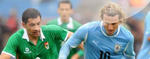 Bolivia vs. Uruguay en VIVO - Eliminatorias Brasil 2014