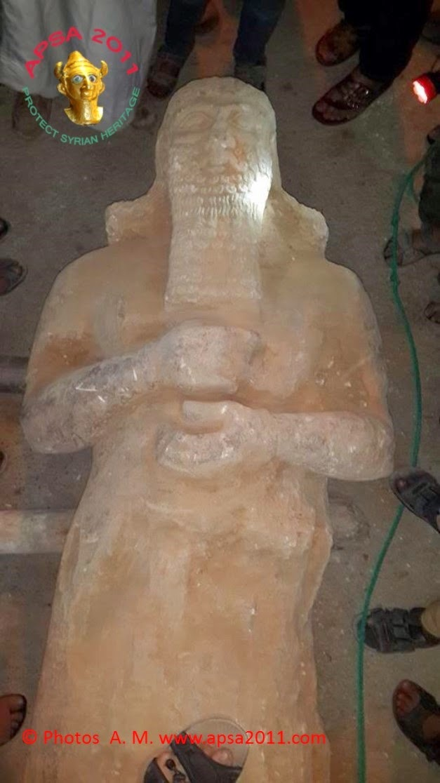 3000 year-old Assyrian artefacts destroyed in Syria