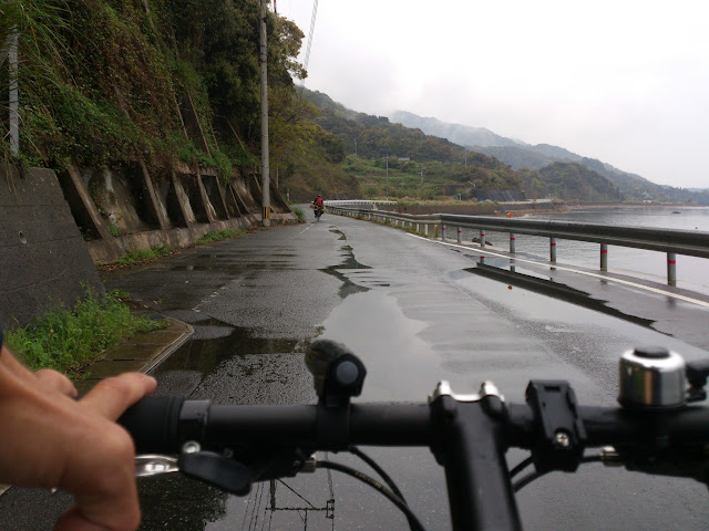 Cycling coastal Amakusa
