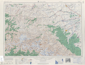 U S Army Map Nk38 1