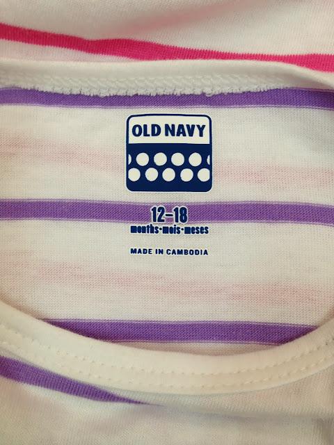 Đầm Oldnavy, hàng xuất xịn, made in cambodia, size từ 12-18M đến 5A, màu tím.b