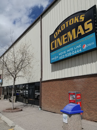 Okotoks cinemas, 100 Stockton Ave, Okotoks, AB T1S 1A9, Canada, Movie Theater, state Alberta