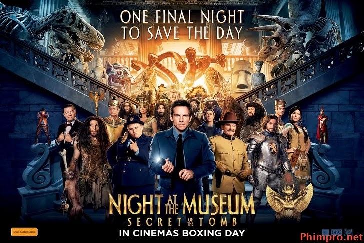 Phim  Đêm Ở Viện Bảo Tàng: Bí..