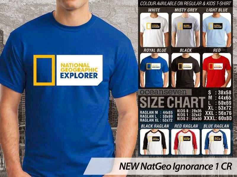 Kaos National Geographic NEW Nat Geo Ignorance 1 distro ocean seven