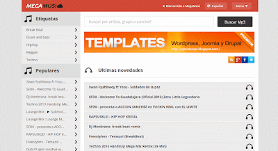 Share Free Template Blogspot nhạc
