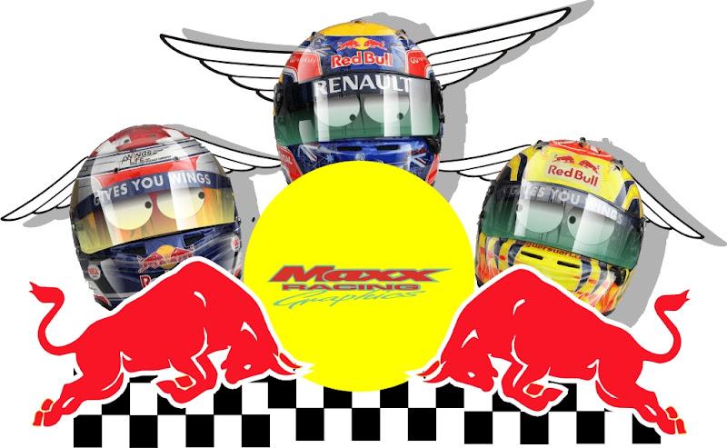 Себастьян Буэми и Хайме Альгерсуари засматриваются на место Марка Уэббера в Red Bull после Гран-при Италии 2011 в Монце Maxx Racing