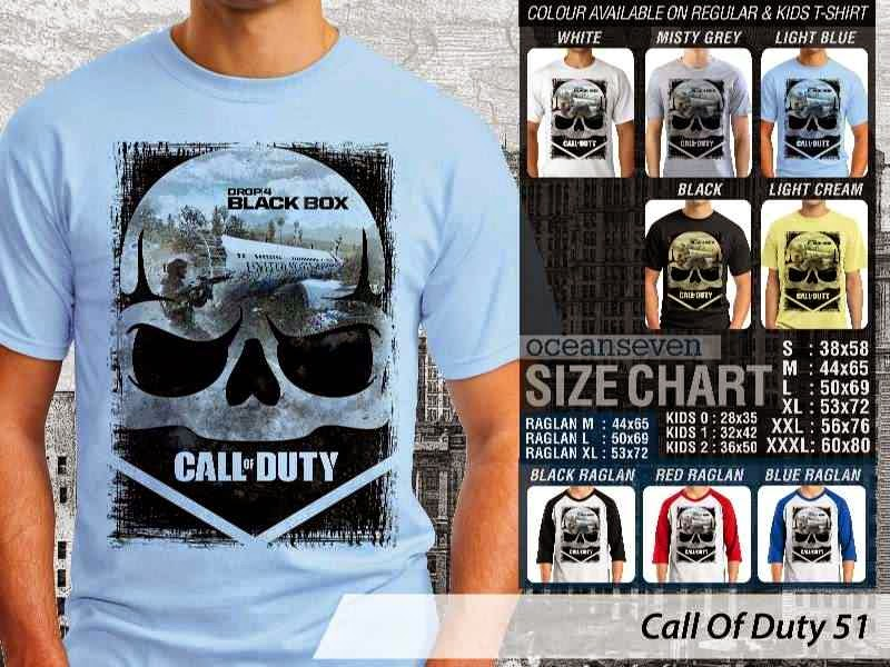 KAOS cod Call Of Duty 51 Game Series distro ocean seven