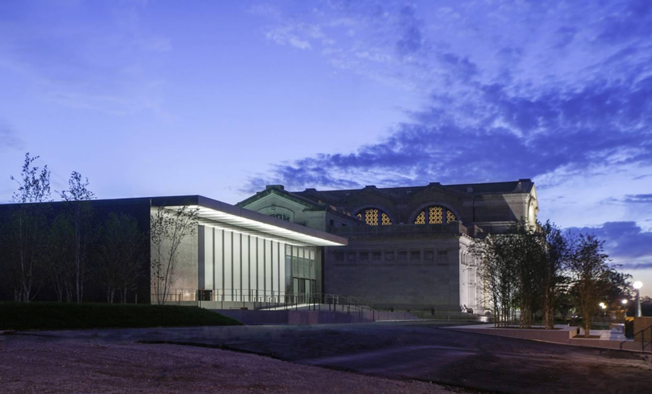 Saint Louis Art Museum expansion by David Chipperfield