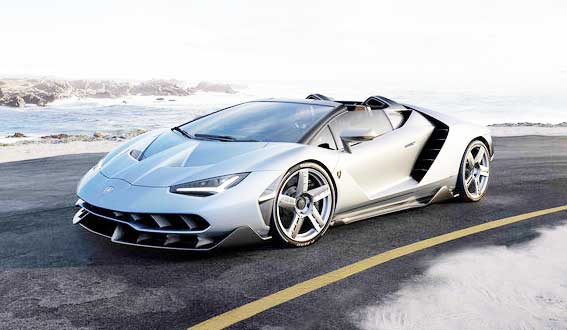 2017 Lamborghini Centenario Roadster Review, Price, and Specs with 770 Horsepower