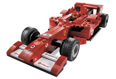 болид Формулы-1 Ferrari лего