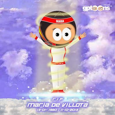 Мария де Вильота RIP - комикс Grand Prix Toons