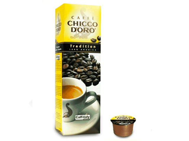 Capsule Chicco d'Oro Caffitaly Tradition 100% Arabica