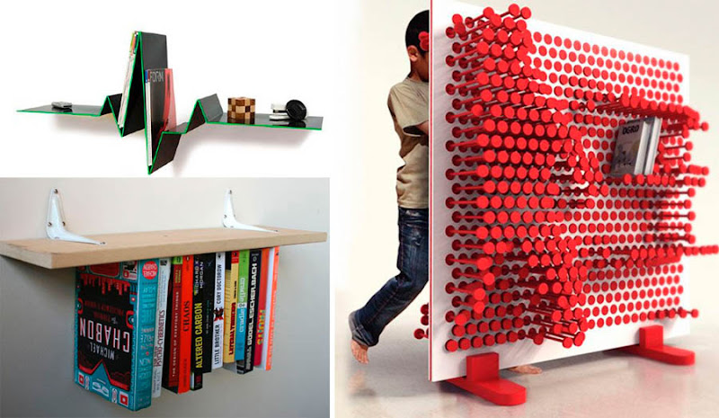 Pulseline Inverted Shelf Which You Can Make Yourself Left And Pin Press Right